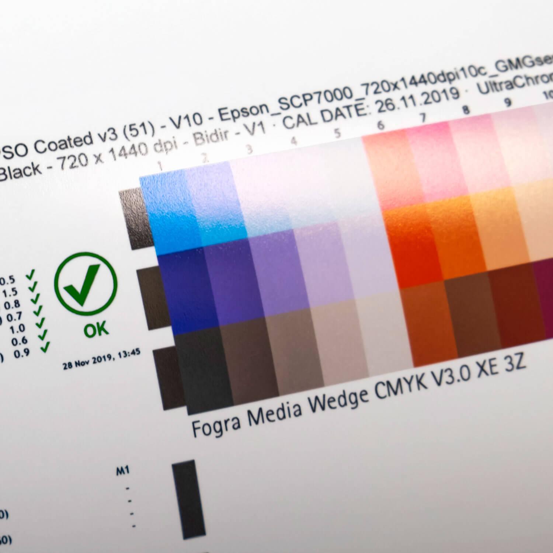 Kolorit Zentrallitho Farbstandard
