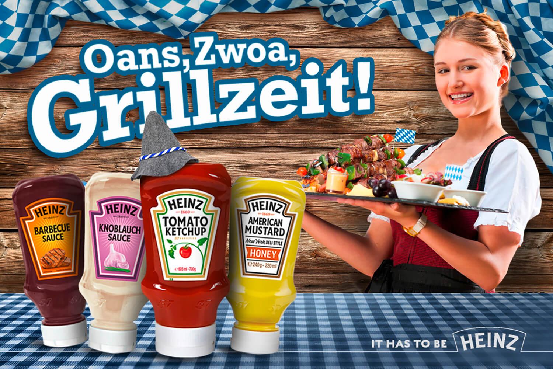 Key Visual für die Firma Heinz
